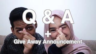 Gambar cover Q & A + Give Away Announcement - ARDAN AFFANDI & SINTA SRI ANTAN - TWO DOORS STORY
