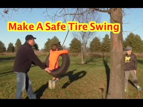 BUILD A TIRE SWING - RHINO STRAPMATE- DIY-