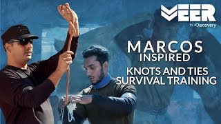 Knots and Ties Survival Training for Flood Rescue | India's Citizen Squad E3P3 | Veer By Discovery