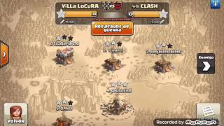 Th10 vs Th10: Shattered Laloon + Zap (Patitosix6 - Villa Locura - Clash Of Clans)