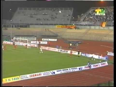 Piacenza-LECCE 2 a 1 del 19 settembre 1993 (telecronaca primo tempo)