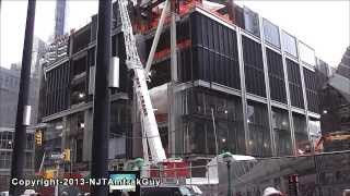 UPDATE! One World Trade Center / Freedom Tower 11/23/2013 construction progress part 2