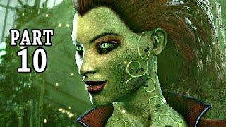 Batman Return to Arkham Gameplay Deutsch #10 - Poison Ivy - Let