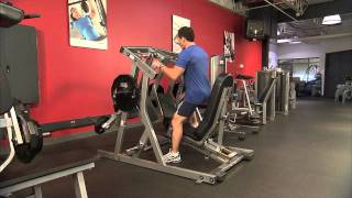 hammer strength single leg press