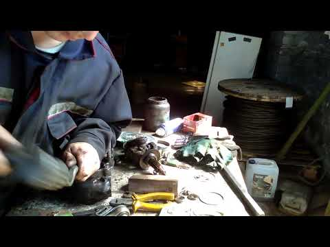 Установка дисковых тормозов на луаз 1