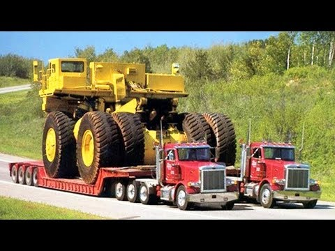 10 Extreme Dangerous Oversize and Heavy Transportation Mega Machines  You Need To See
