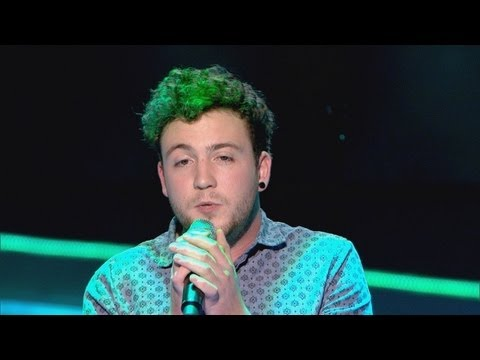 David Julien performs 'The Man Who Can't Be Moved' - The Voice UK - Blind Auditions 2 - BBC One