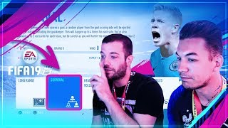 FIFA 19 - MODE SURVIE VS PSYKO17 !