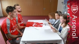 Which Arsenal players' name should I get on my shirt? | Junior Gunners