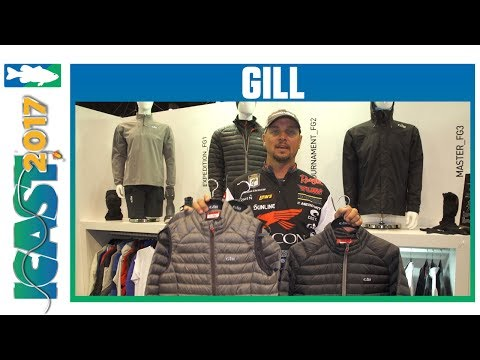 Gill Mens Hydrophobe Down Jacket With Jason Christie | ICAST 2017