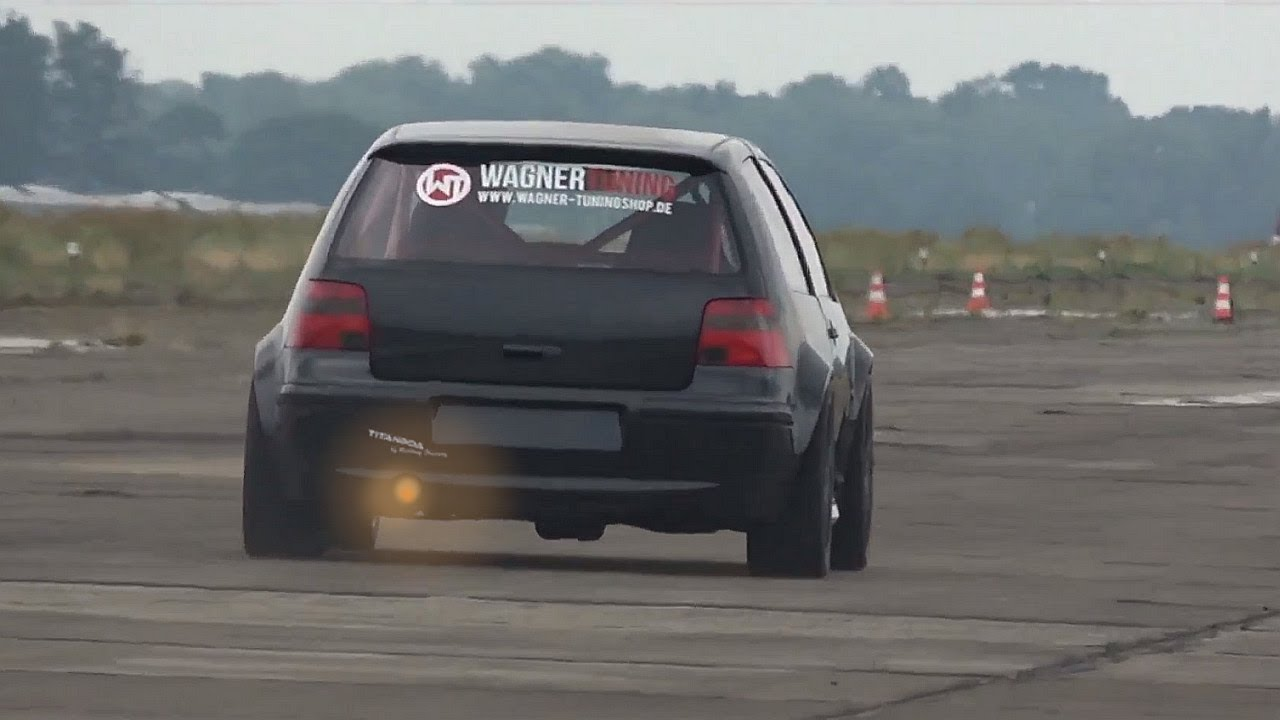 1200HP VW GOLF 4 R32 Huge Turbo Tuning by Don Octane