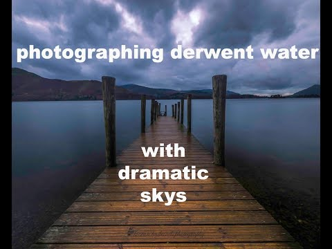 Photographing a moody Derwent Water