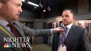 Inspiring America: Free Suits For Men Struggling To Find Work | NBC Nightly News