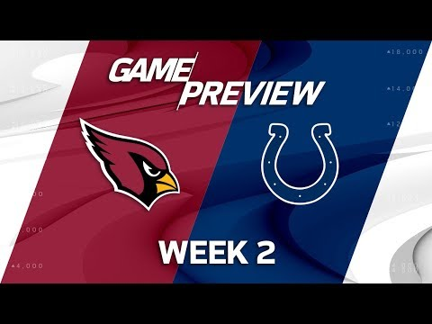 Arizona Cardinals vs. Indianapolis Colts   Week 2 Game Preview   NFL Total Access