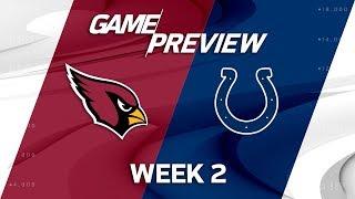 Arizona Cardinals vs. Indianapolis Colts | Week 2 Game Preview | NFL Total Access thumbnail