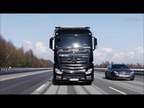 2017 Mercedes Benz Trucks: Highway Pilot Connect - Demonstration