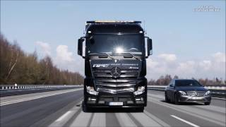 2017 Mercedes Benz Trucks: Highway Pilot Connect - Demonstration