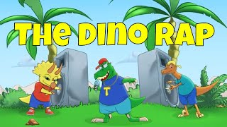 The Dino Rap - Friendly Fables Rap-A-Long Volume #1 - Amazing kids rap song about Dinosaurs!