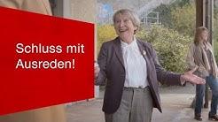 Schluss mit Ausreden! - Günstige Billette dank SBB Mobile.