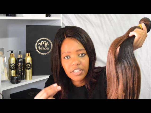 Spot Fake hair - #HairTalkswithSisi from South Africa