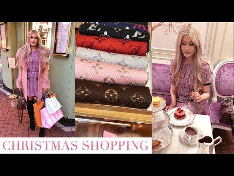 Dublin christmas shopping Louis Vuitton,Laduree afternoon tea | vlogmas