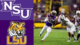 Northwestern State Vs 4 LSU Highlights  NCAAF Week 3  College Football Highlights
