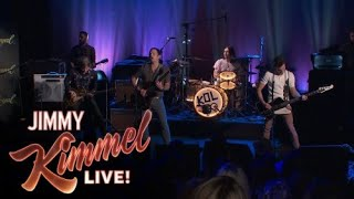 Kings of Leon - Waste a Moment (Live on Jimmy Kimmel 2016)