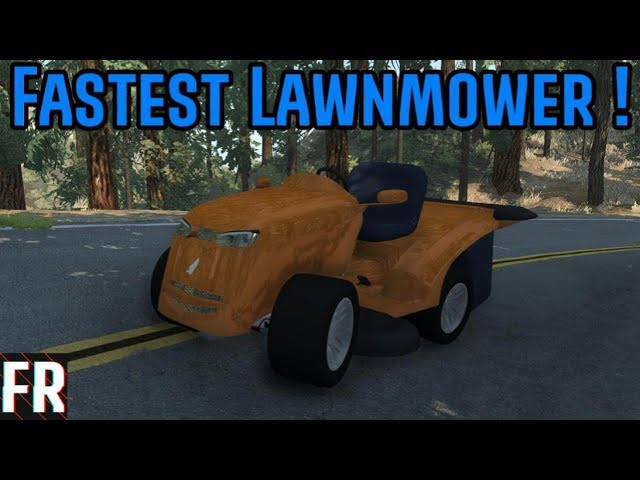 Automation/BeamNG Drive - Worlds Fastest (And Scariest) Lawn Mower