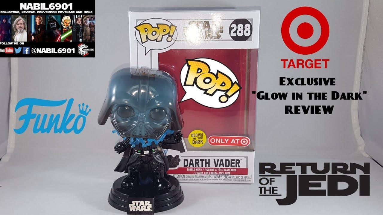 Details about  /Funko Pop Star Wars Darth Vader #288 Glow In The Dark Target Exclusive In Hand