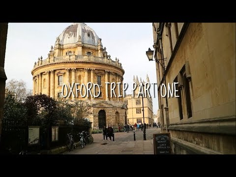 OXFORD! Part 1 // Travel Abroad 013
