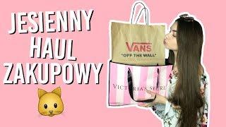JESIENNY HAUL ZAKUPOWY! (Victoria's Secret, Vans, H&M i inne!)    Kompleksiara Xx