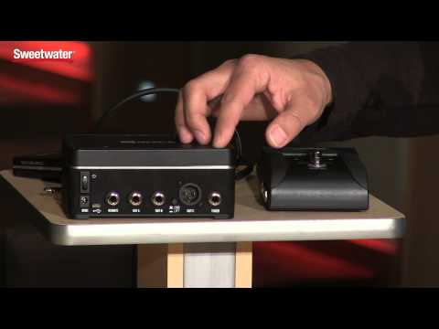 Line 6 Relay G70 and G75 Wireless Systems Overview by Sweetwater Sound