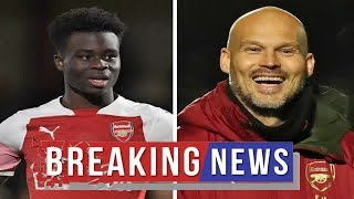 Arsenal news: Freddie Ljungberg reveals what amazes him about future star Bukayo Saka