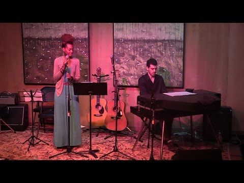 "Leah Carroll performs ""Mannish Boy"" by Muddy Waters with Nick Hetko on Piano"
