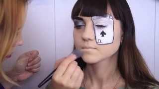 Новости от Спутник-ТВ, уроки мейкапа от Анны Лифановой - Хэллоуин, пиковая дама.