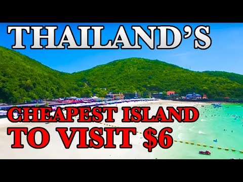 THE BEST ISLANDS TO VISIT IN THAILAND | Koh Larn Island The Cheapest Thailand Islands
