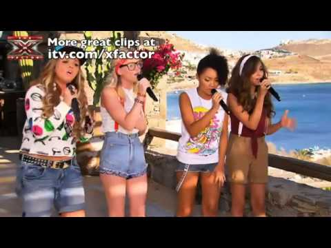 Little Mix - Big Girls Don't Cry - The X Factor 2011 [Judges' Houses]