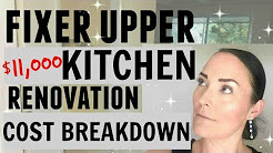KITCHEN RENOVATION ON A BUDGET ● DEBT FREE FIXER UPPER  ●  BEFORE/AFTER HOME RENOVATION TIPS