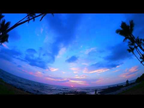 ASMR SUNSET NATURE SOUND video (Better Sound)