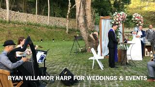 Ryan Villamor Music - Harp and Strings & Jazz for weddings and events