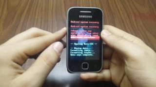 Samsung Galaxy Young GT-S5360 Factory Reset