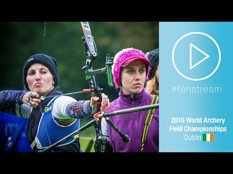 #FanStream: Slovenia v Italy – Women Team Bronze Final | Dublin 2016