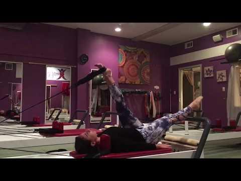 Reformer Pilates Exercises: Core-Blasting // My Pilates Studio - Plainview, NY
