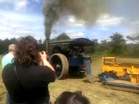 Mclaren Steam Road Locomotive Tractor Pulling