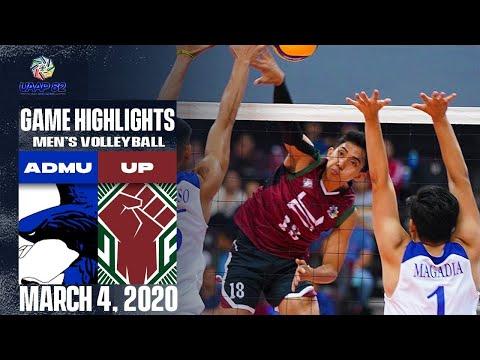 ADMU vs. UP - March 4, 2020    Game Highlights   UAAP 82 MV  