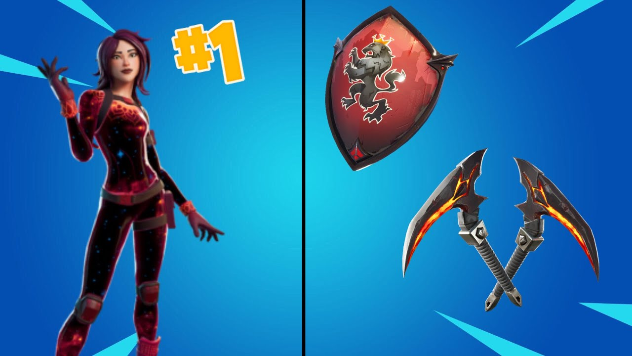 Top *10 BEST* Combos To Use With The STARFLARE Skin + PICKAXES