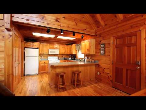 """Bearadise"" Honeymoon Cabin In Sevierville, TN For Couples - Cabins USA 2015"
