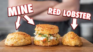 Making Red Lobster Cheddar Bay Biscuits At Home   But Better