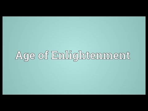 Age of Enlightenment Meaning