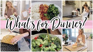 WHAT'S FOR DINNER? // FAMILY MEAL IDEAS 2020 // TIFFANI BEASTON HOMEMAKING